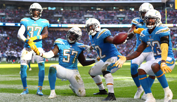 pretty nice 53a66 a8260 NFL: Los Angeles Chargers spielen 2019 zuhause in taubenblau