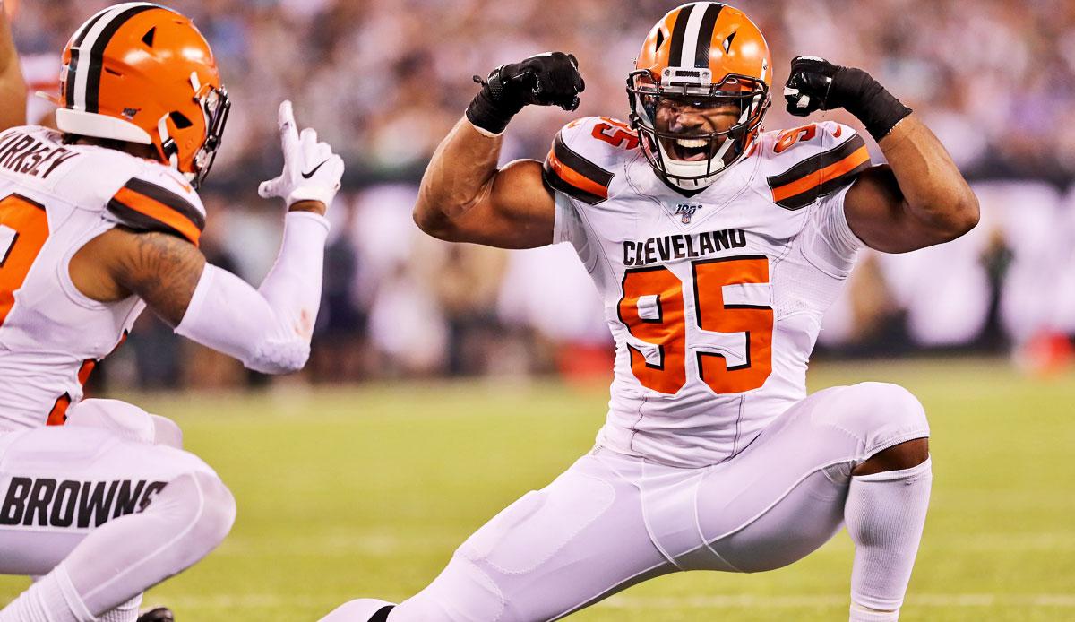 NFL   Cleveland Browns Myles Garretts historischer Vertrag   Ein ...